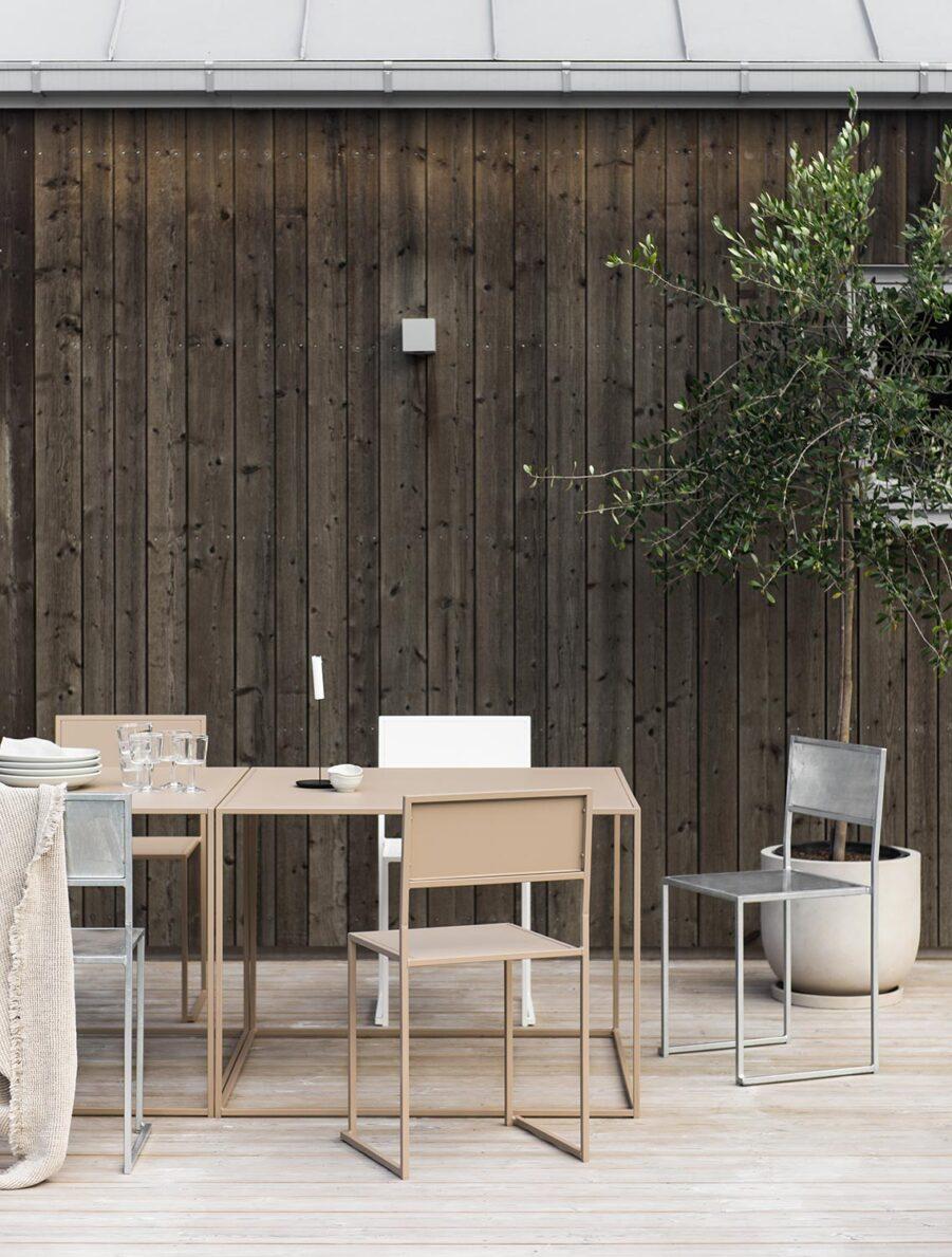 Miljöbild på matbord och stolar från DesignOf.