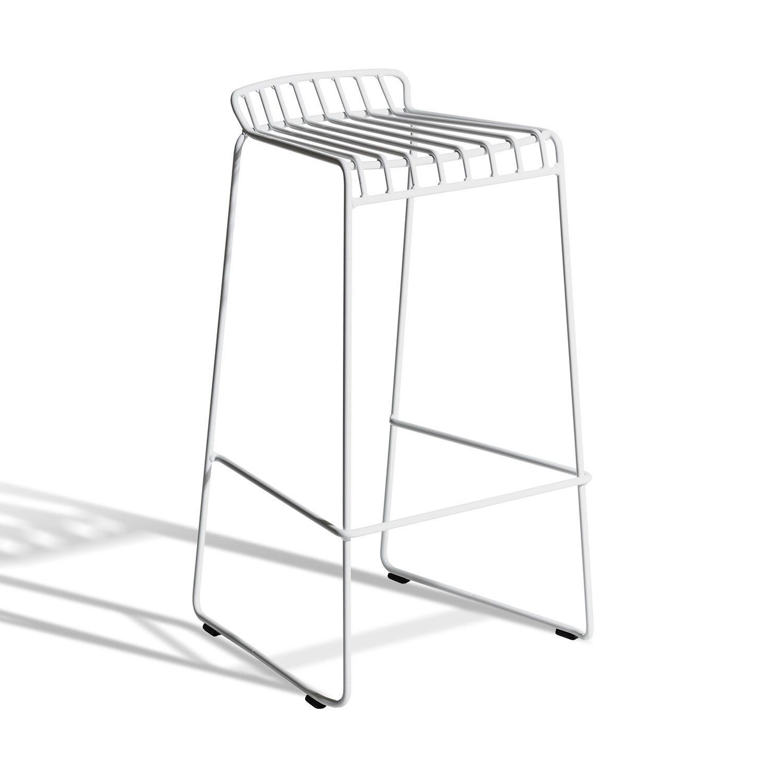 Barstolen i serien Resö, i vitt.
