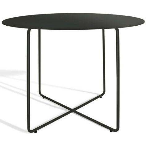 Matbordet Resö i mörkgrått från Skargaarden.