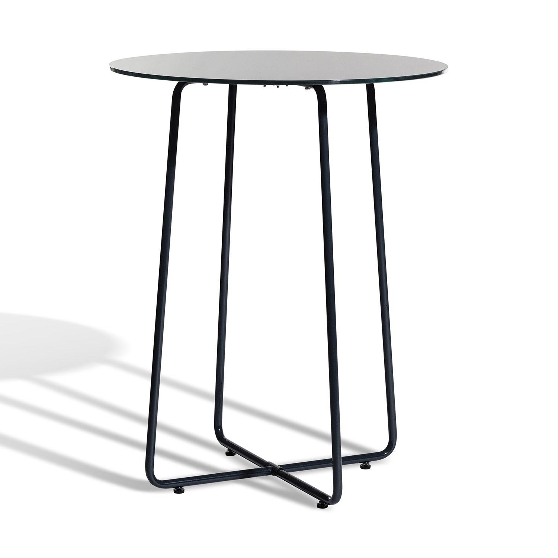 Resö bord i grå metall från Skargaarden.