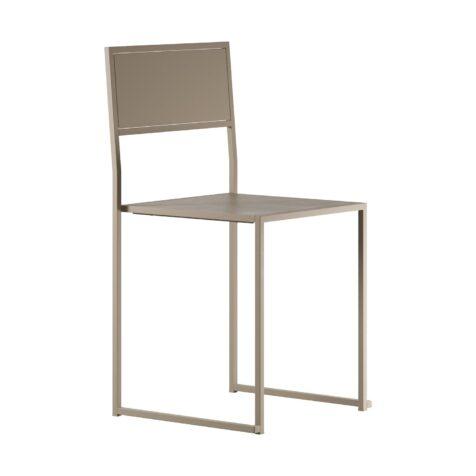 Chair 2 från Design Of i beigelackat stål.