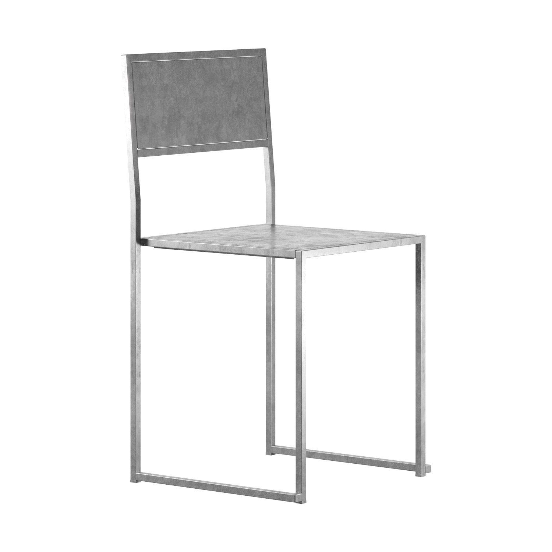 Chair 2 från Design Of i varmförzinkat stål.