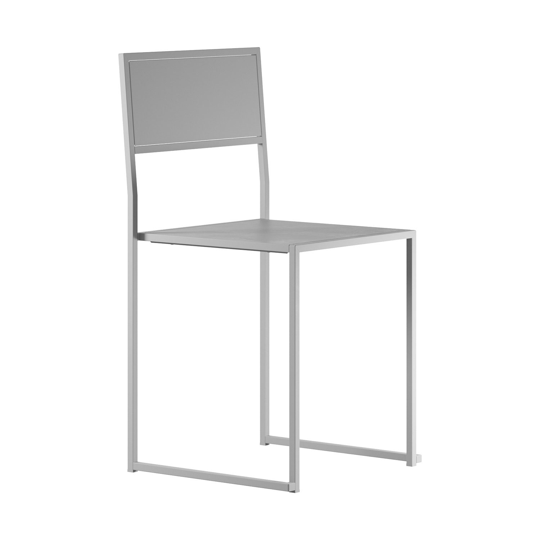 Chair 2 från Design Of i vitlackat stål.