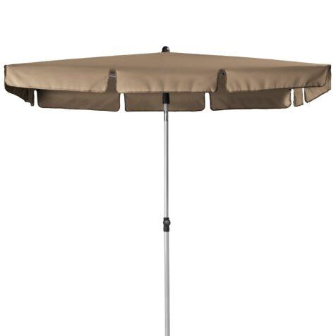 Active balkongparasoll Ø180x120 cm taupe.
