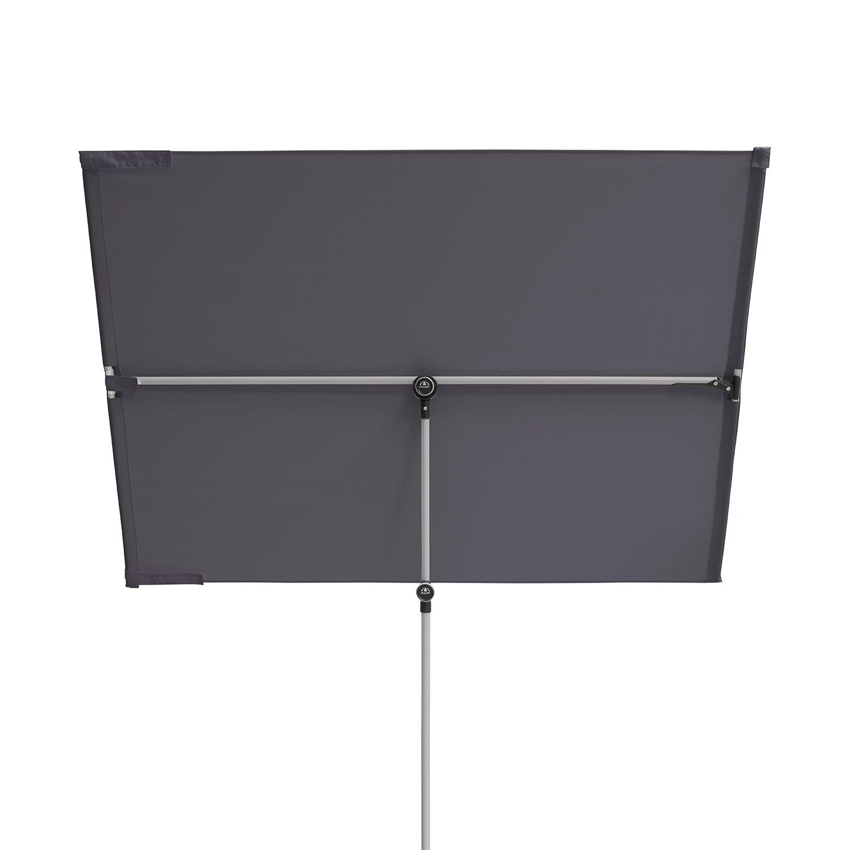 Active balkongparasoll 180x130 cm i antracit.