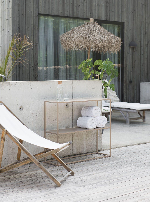 Sideboard från Domo Design i serien outdoor.