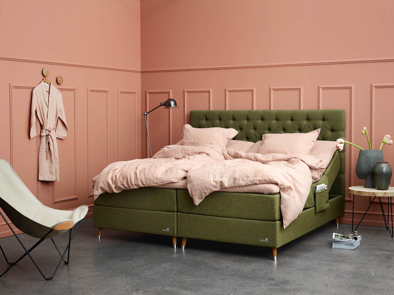 Miljöbild på Ekens stallbar med sänggavel