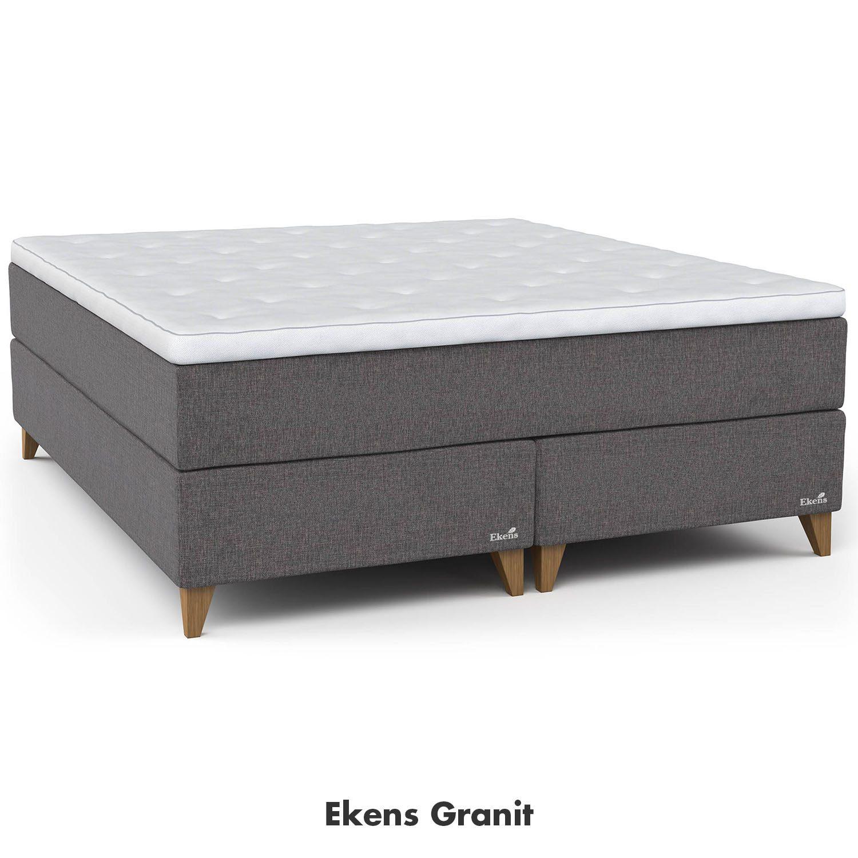 Ekens Elegant kontinentalsäng i färgen Granit.
