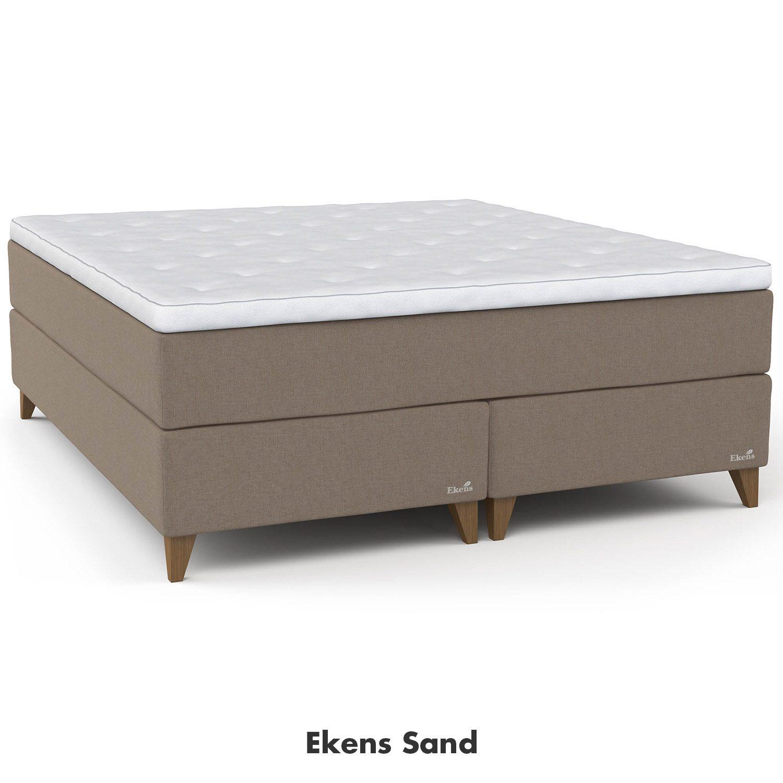 Ekens Elegant kontinentalsäng i färgen Sand.