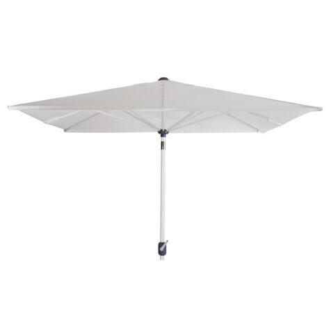 Brafab Andria parasoll vit/vit 250x250 cm