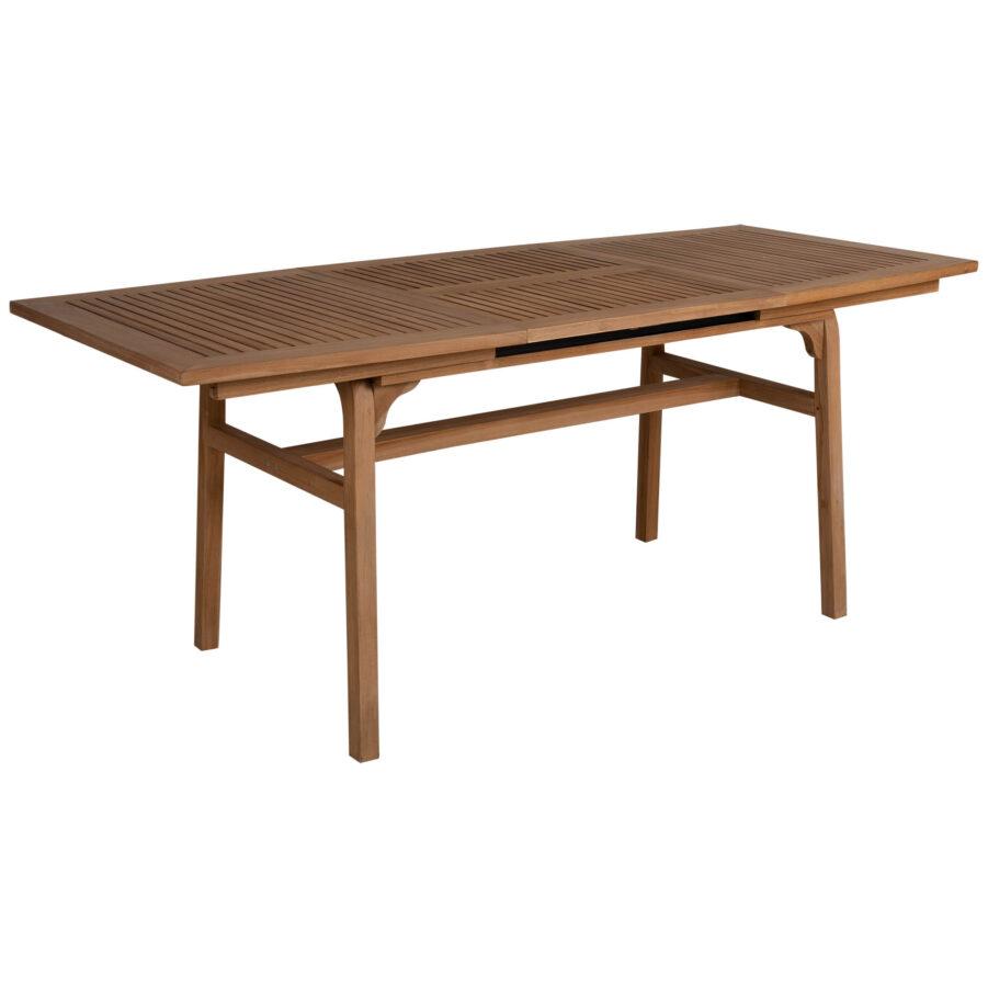 Volos förlängningsbart matbord i teak.