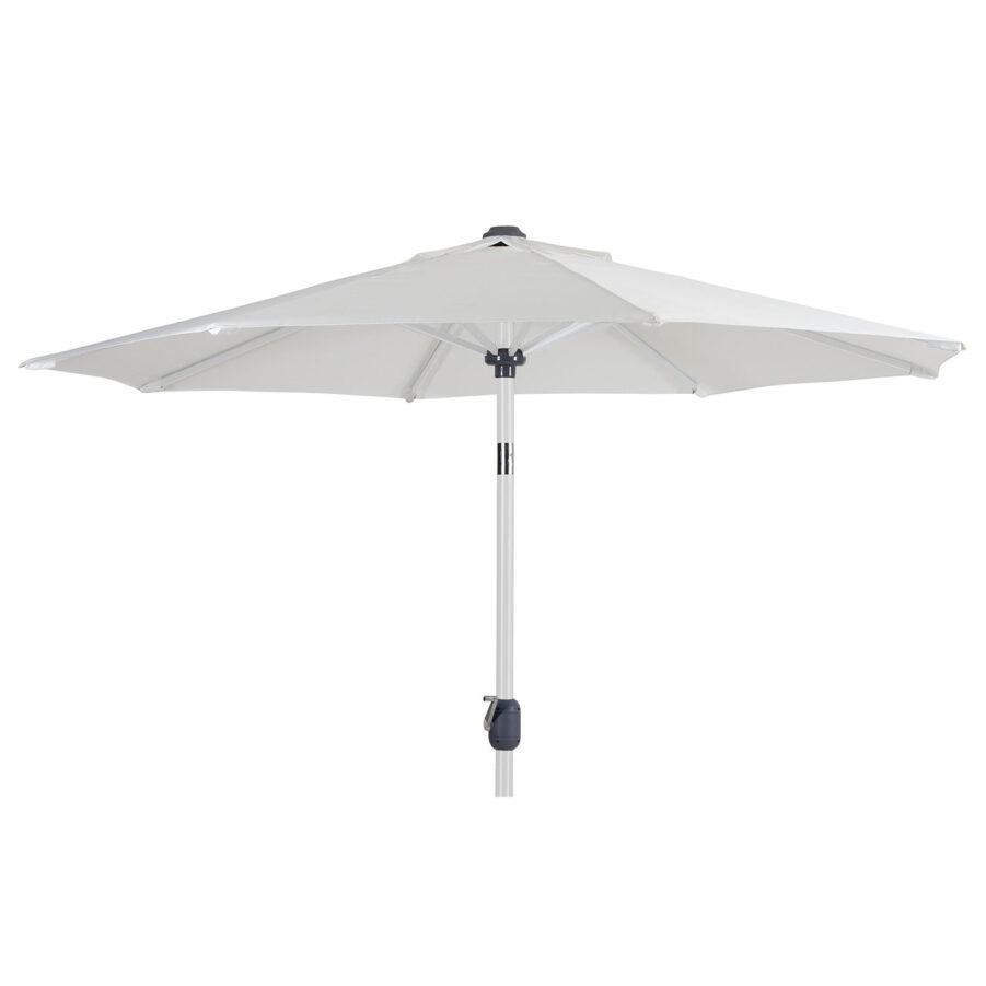 Andria parasoll i vitt.