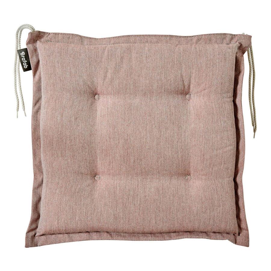 Brafab Florina sittdyna 41x41 cm rosa dralon