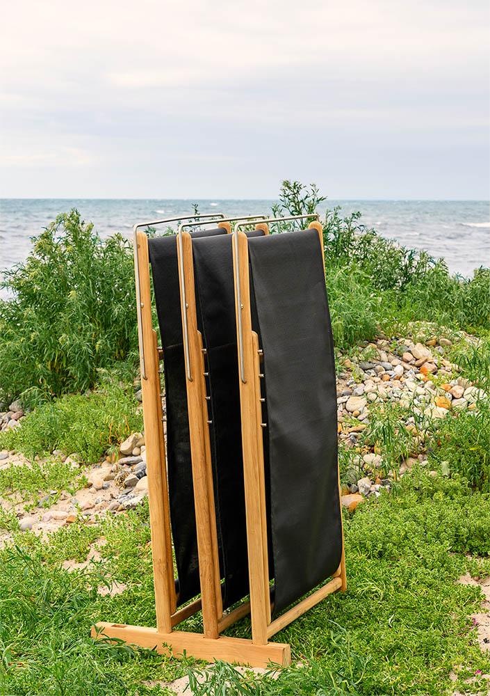 Miljöbild på Sindos strandstol från Brafab.