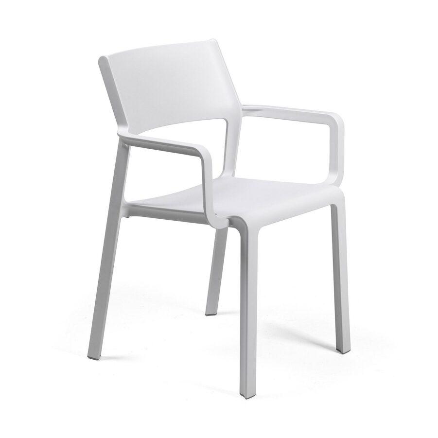 Bild på Trill karmstol i vitt.