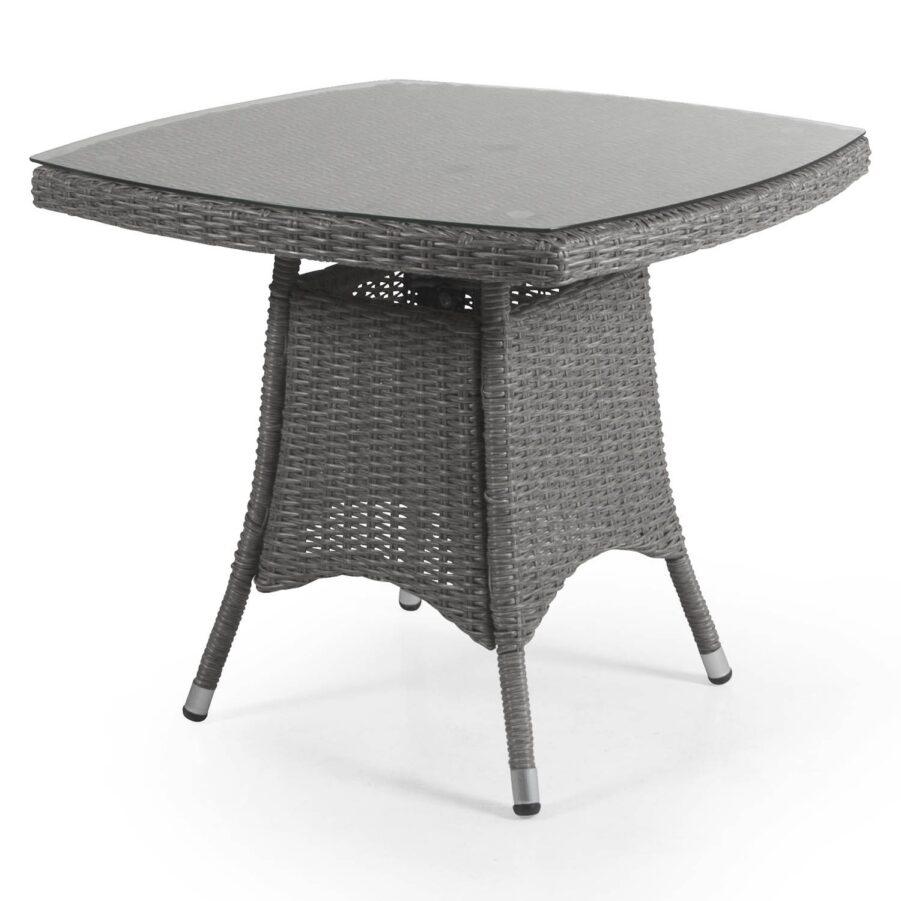 Ashfield kvadratiskt soffbord i grått.