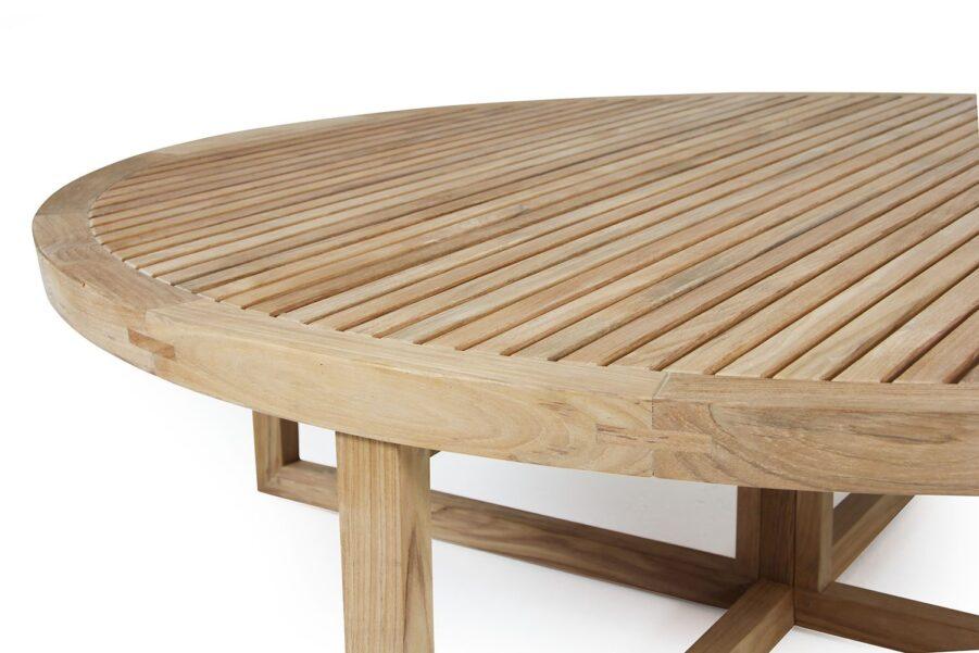 Detaljbild på Vevi soffbord från Brafab.