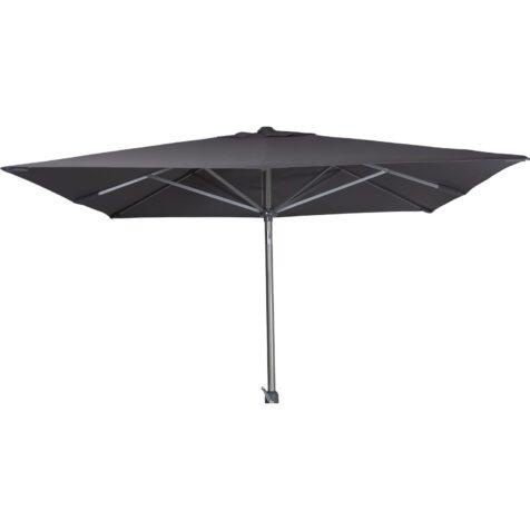 Andria parasoll i silver och grått från Brafab.