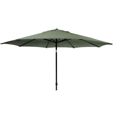 Solar Line parasoll i färgen olivgrön utan parasollfot.