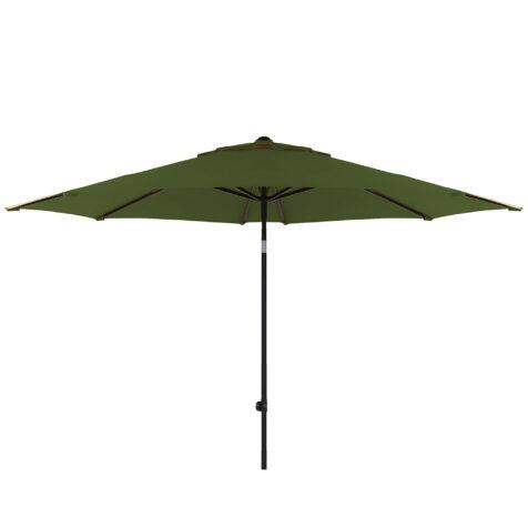 Solar Line parasoll i mossgrönt utan parasollfot,