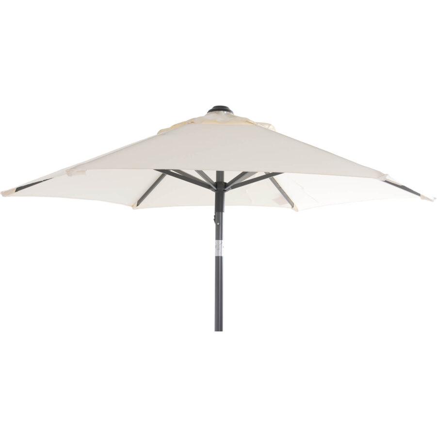 Solar Line parasoll naturfärgat i storleken 2 meter.