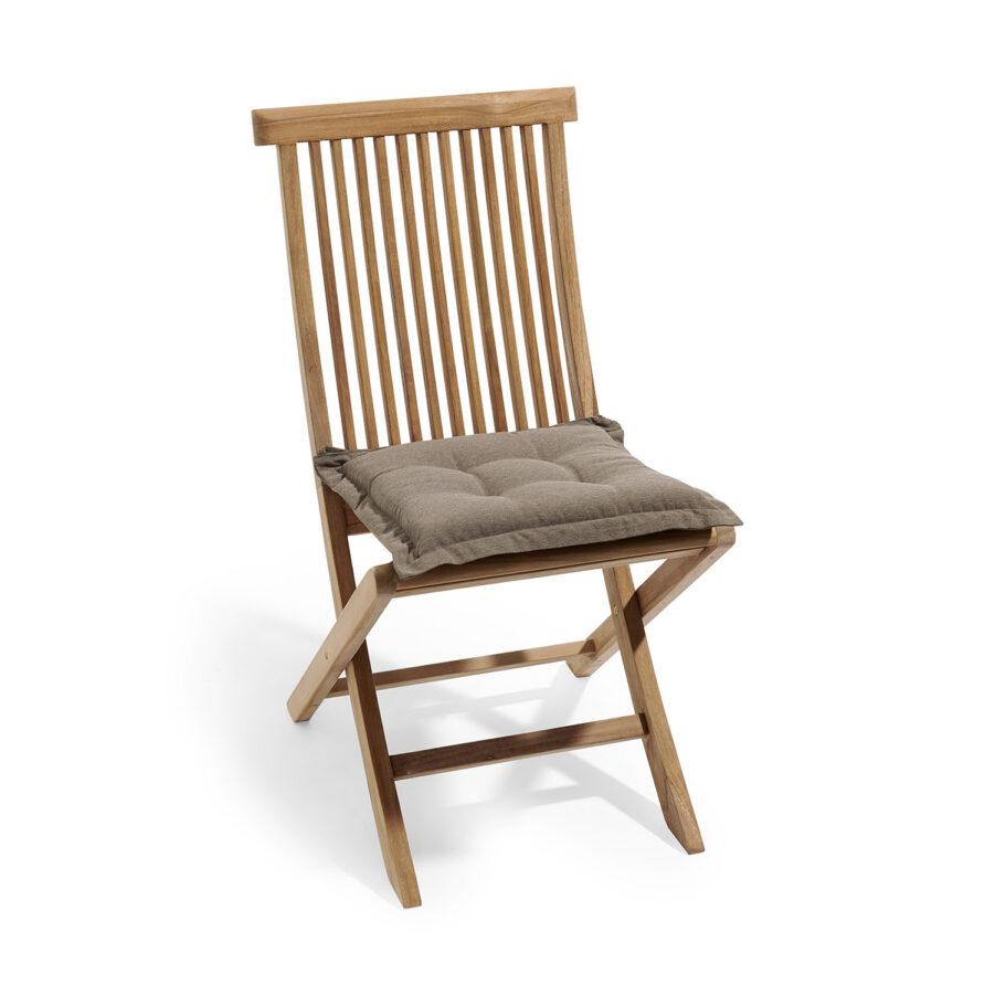 Sittdynan Royal i storleken 41x41 cm med stol.