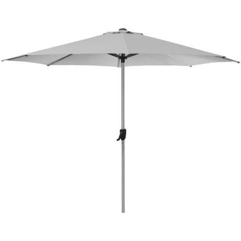 Sunshade parasoll i ljusgrått från Cane-Line.
