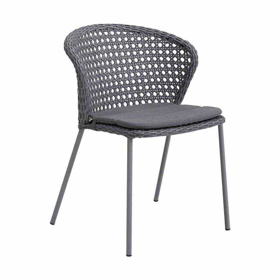 Stolen Lean i ljusgrått med dyna.