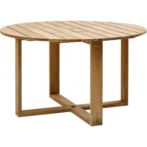 Endless runt matbord i teak från varumärket Cane-Line.