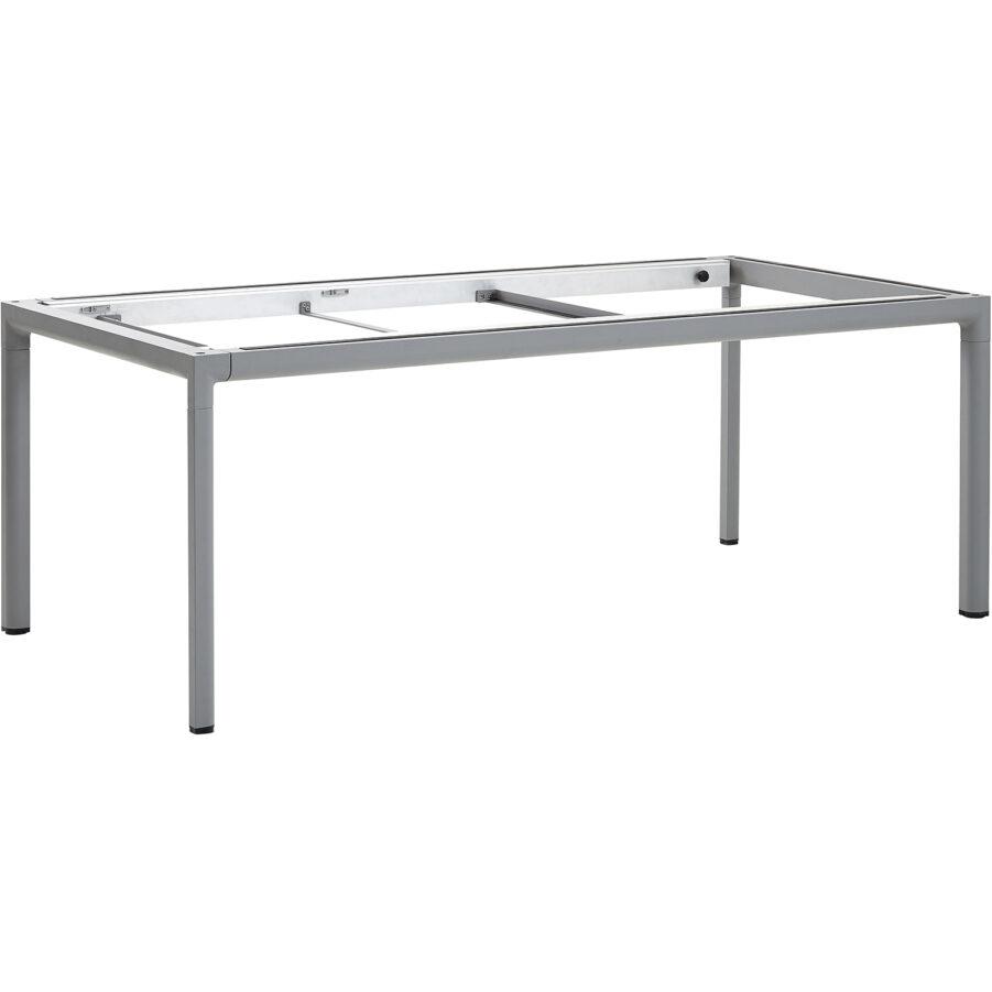 Drop bordsstativ i ljusgrått till förlängningsbord.