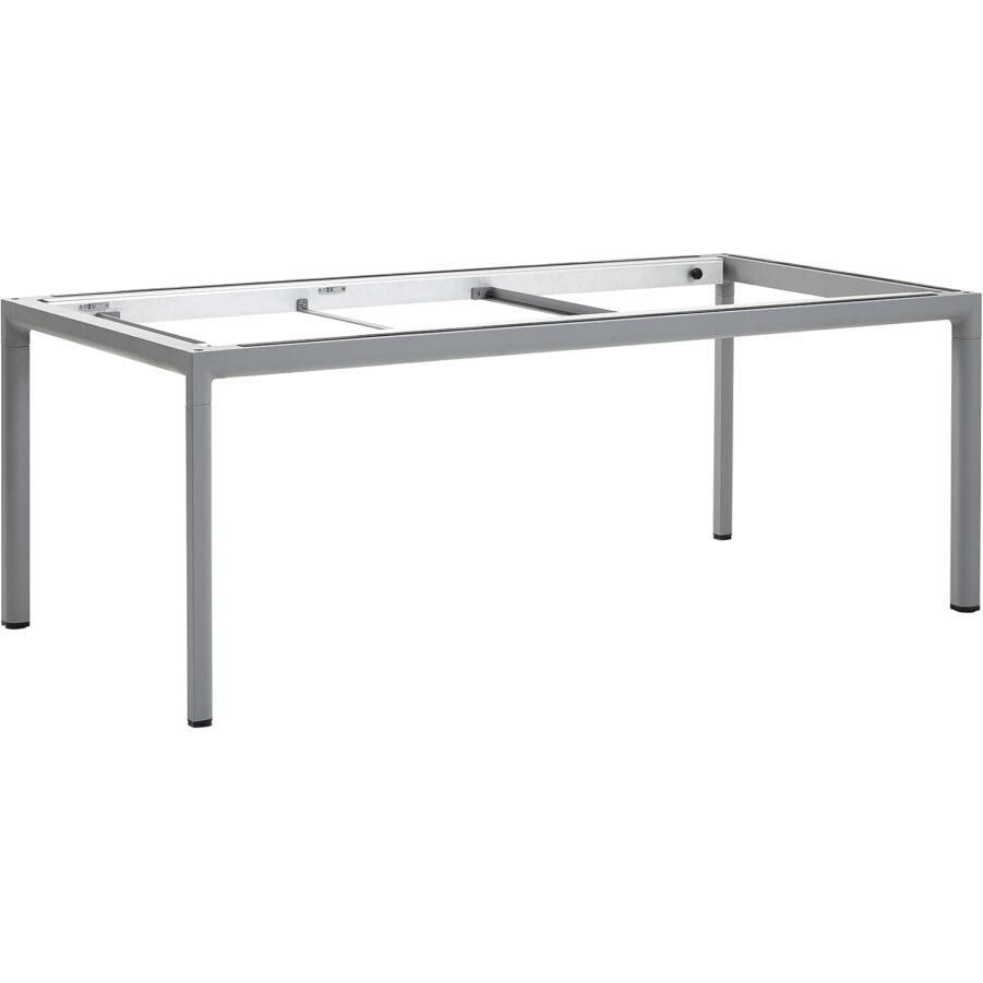 Bordsstativ till Cane-Line matbord i ljusgrått.