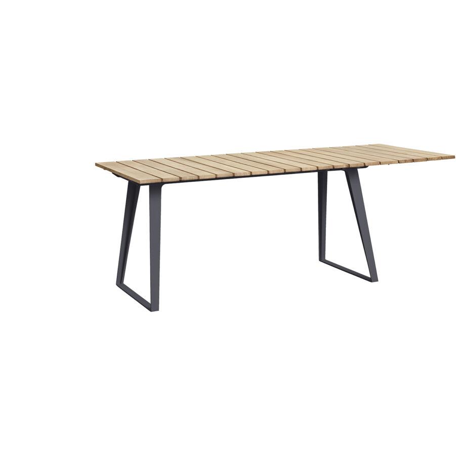 Copenhagen matbord med lavagrå ben.