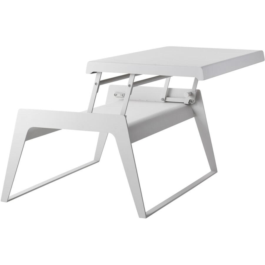 Bild på Chill-out soffbord med utfälld bordsskiva.