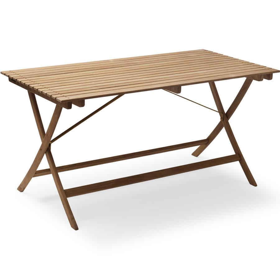 Selandia fällbart matbord i teak från leverantören Skagerak.