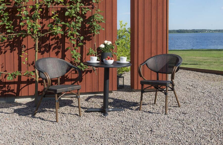 Miljöbild på cafégruppen Äppelhed från Hillerstorp.