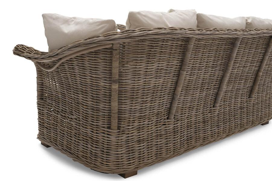 Detaljbild på Edsklinta soffa från Hillerstorp.