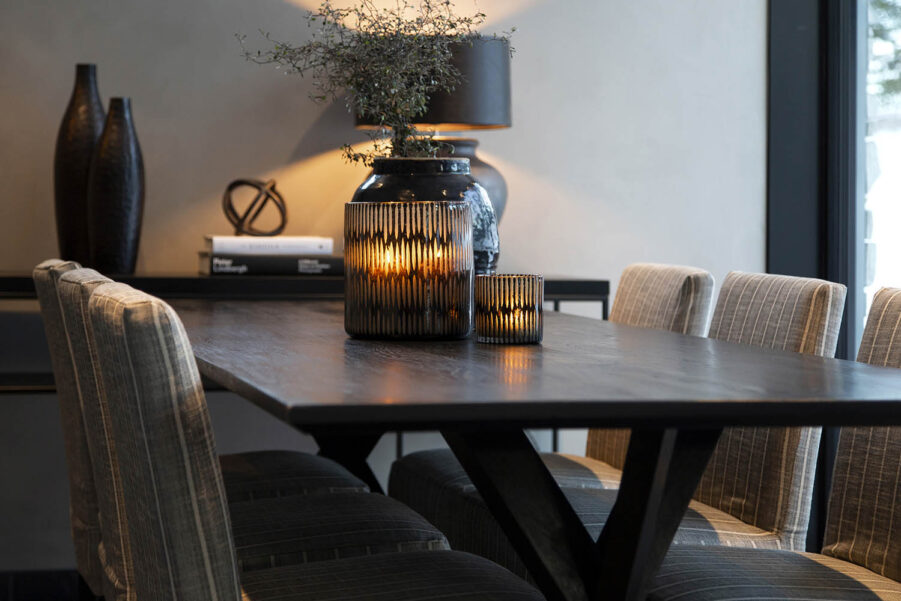 Miljöbild Tree bord, Boston matstol, Aldo dekoration från artwood