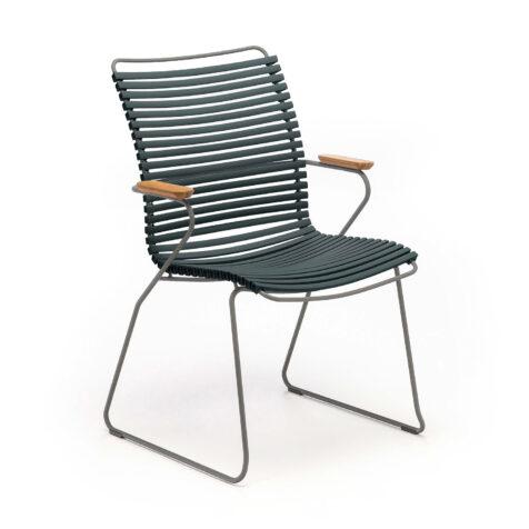 Click karmstol med hög rygg från Houe.