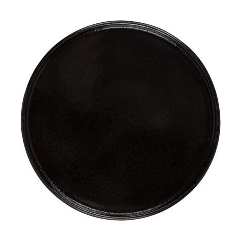 Zelda tallriksunderlägg i svart aluminium från Artwood.
