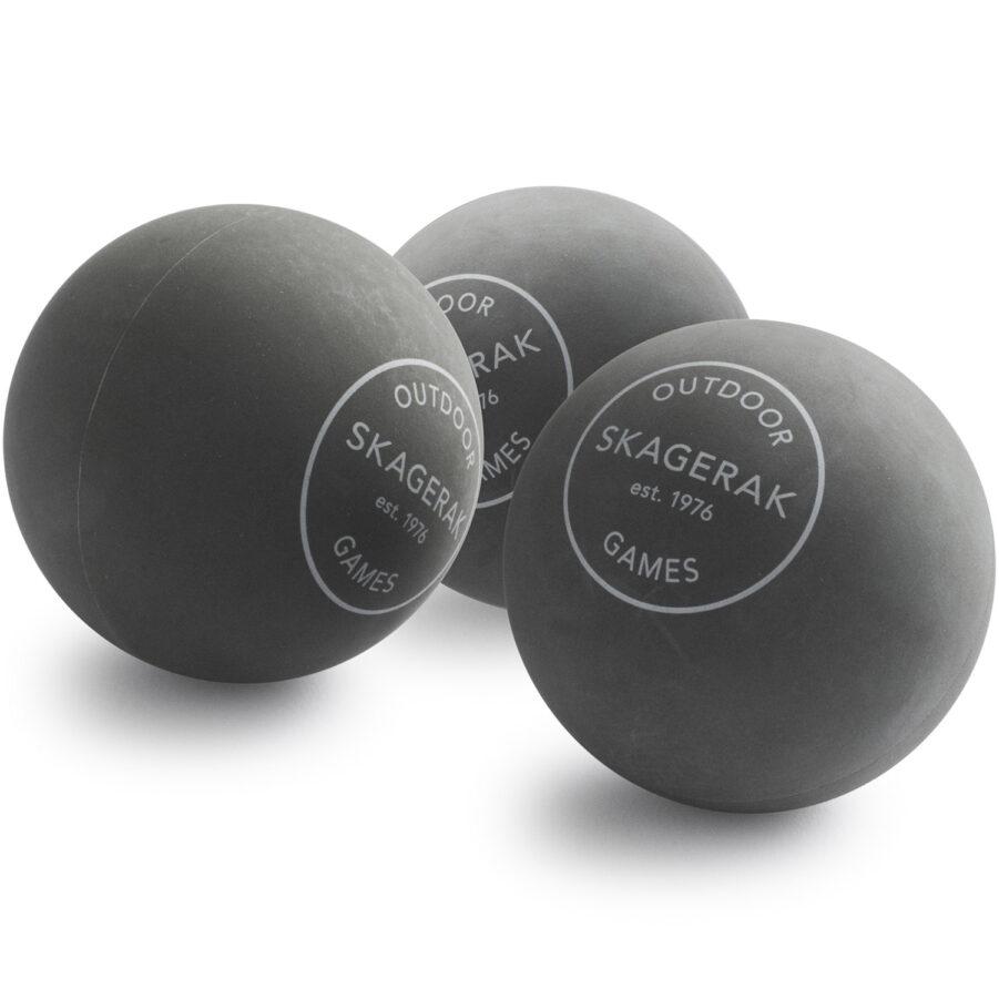 Beach Tennis bollar i grått från Skagerak.