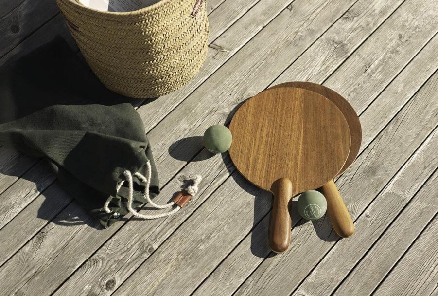 Miljöbild på Beach Tennis från Skagerak.