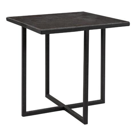 Sorrento sidobord i svart med stenskiva från Artwood.