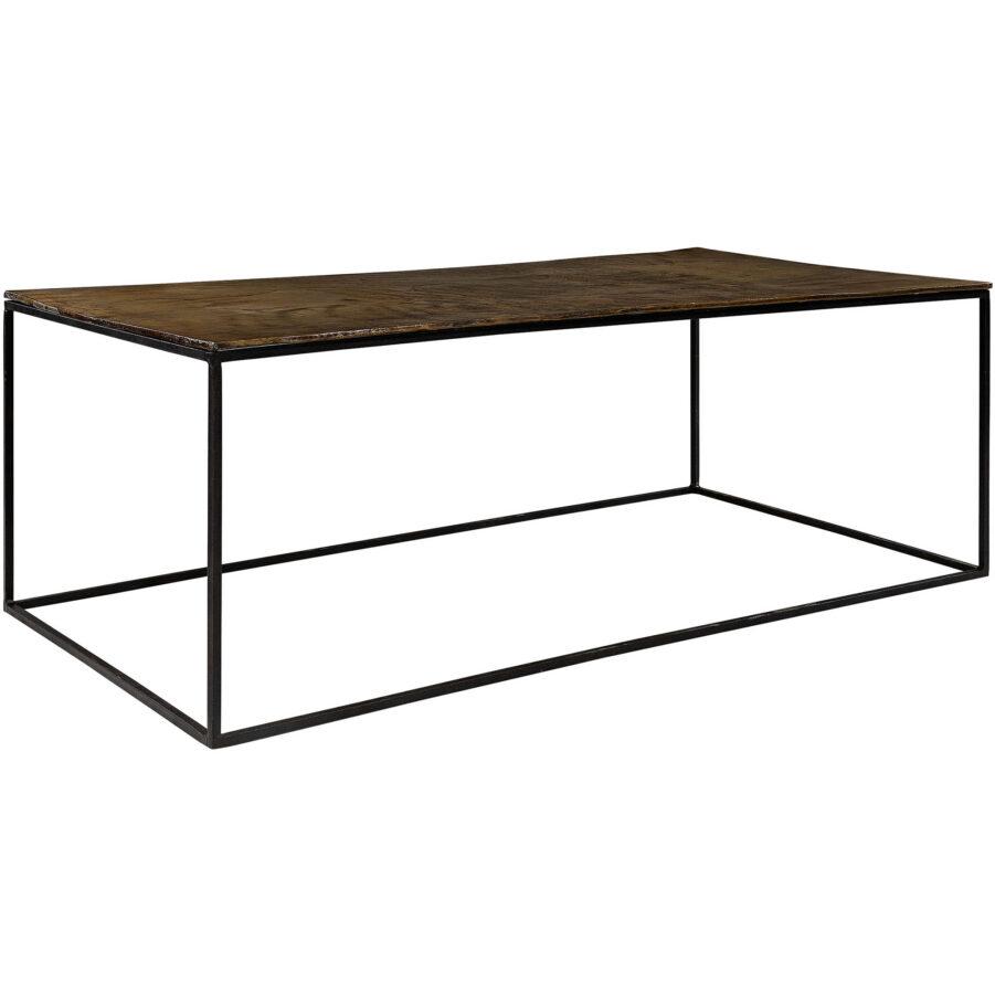 Mille soffbord i svart och vintage koppar från Artwood.