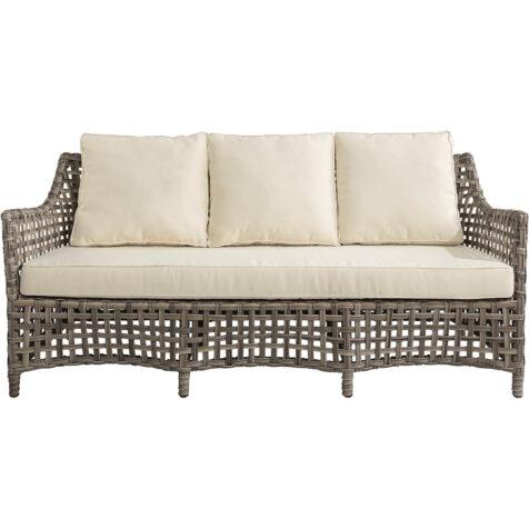 Malaga soffa från Artwood i konstrottingen Classic Grey.