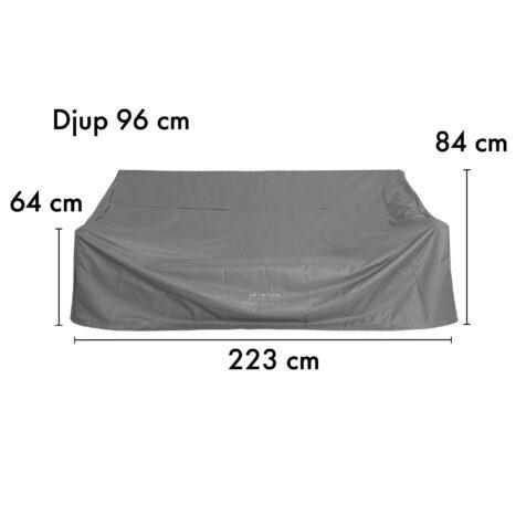 12-00001-PC Artwood möbelskydd för soffor 223x96 cm höjd 64/84 cm