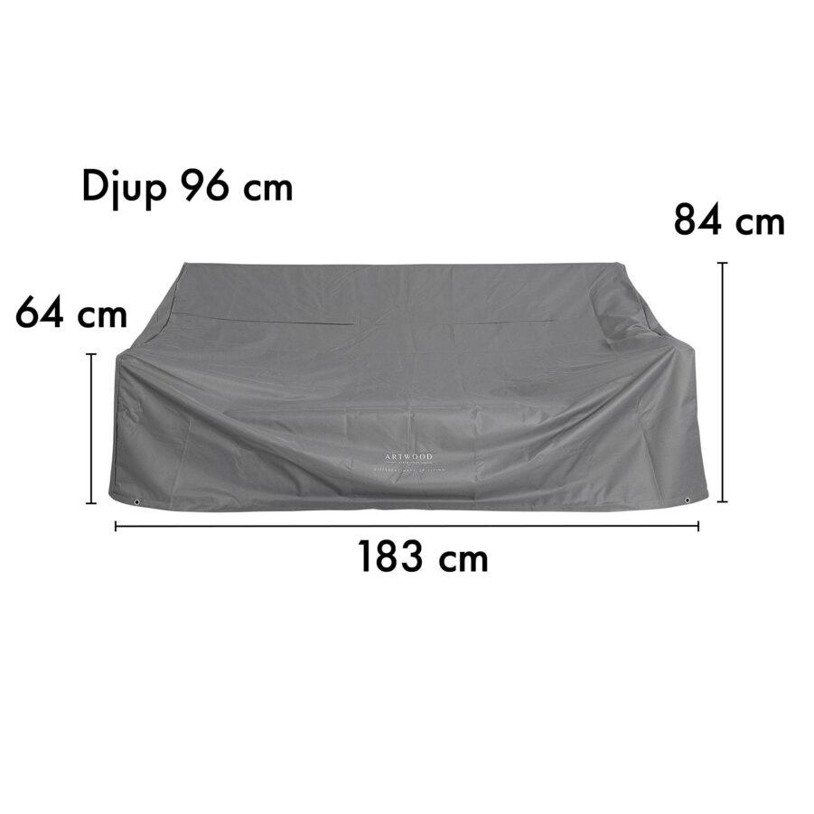 12-00002-PC Artwood möbelskydd för soffor 183x96 cm höjd 64/84 cm