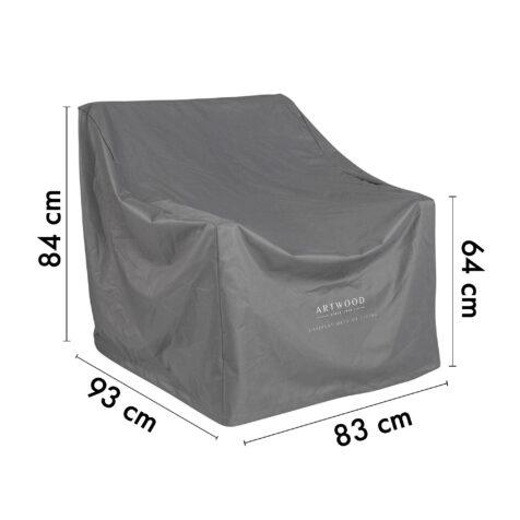 12-00003-PC Artwood möbelskydd för fåtöljer 83x93 cm höjd 64/84 cm