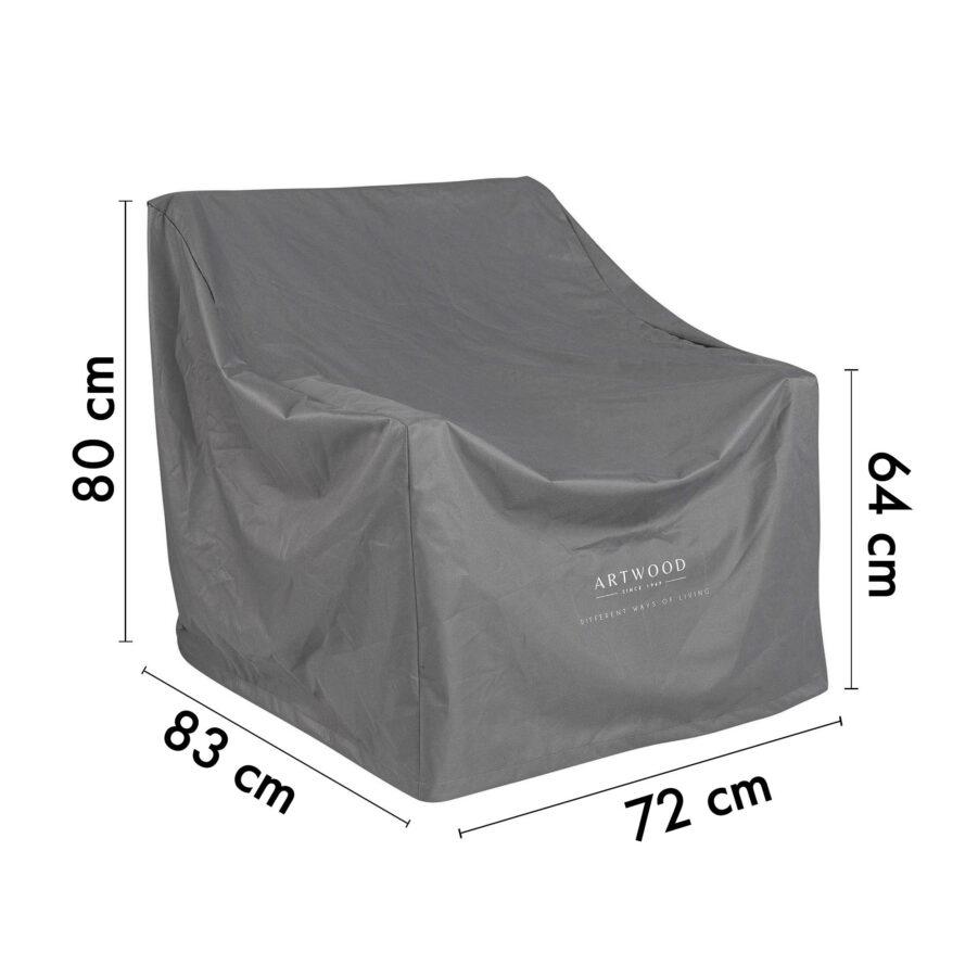 12-00004-PC Artwood möbelskydd för fåtöljer 72x83 cm höjd 64/80 cm