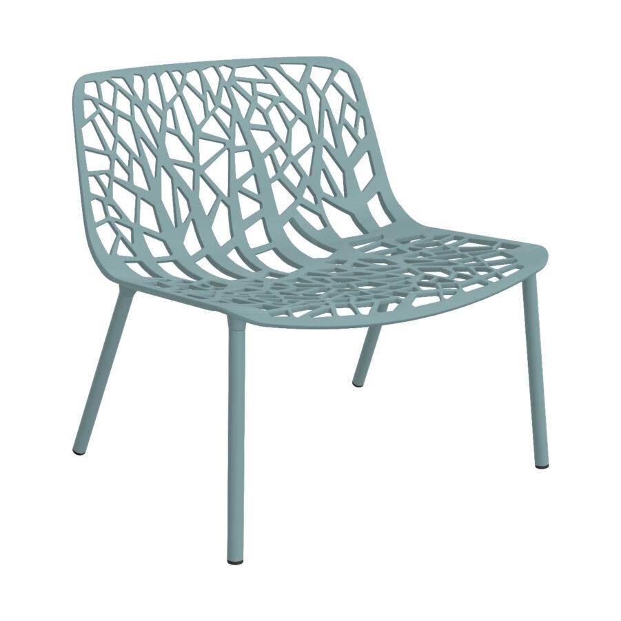Forest loungestol i Light blue från Fast.