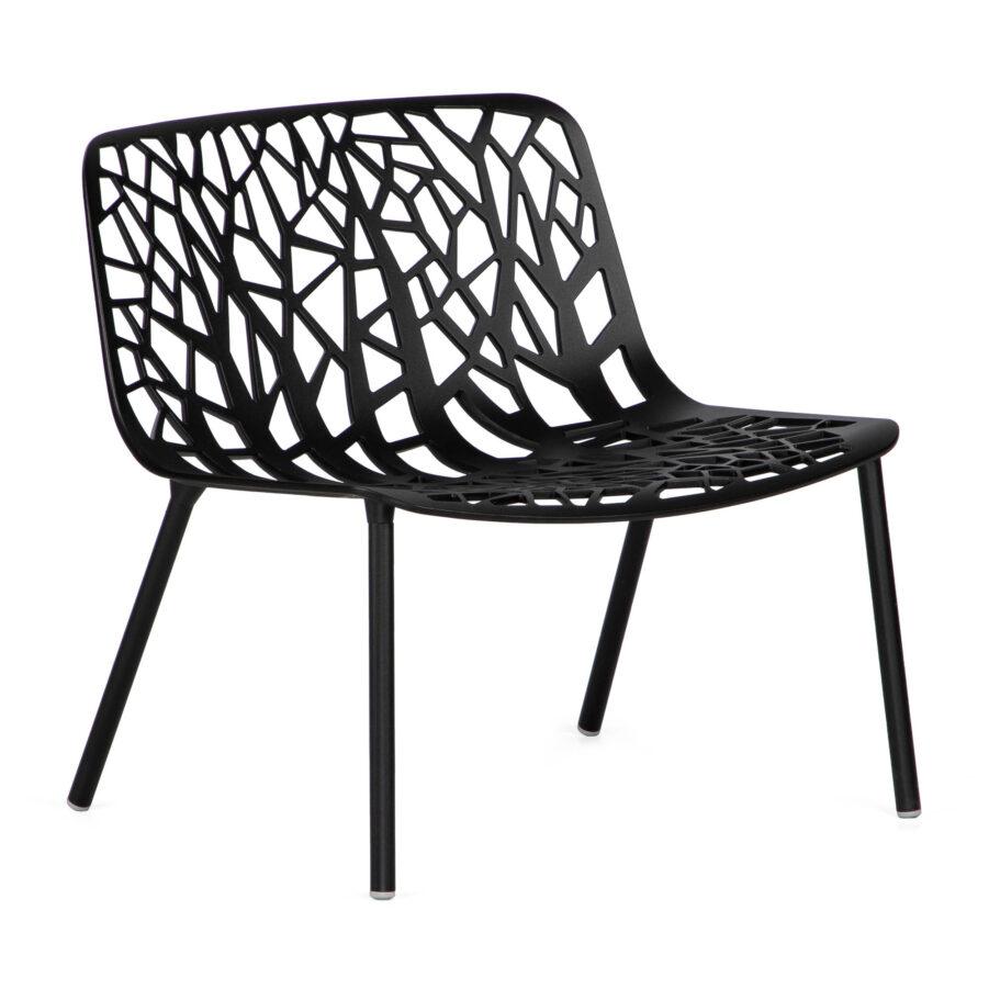 Forest loungestol i svart från Fast.